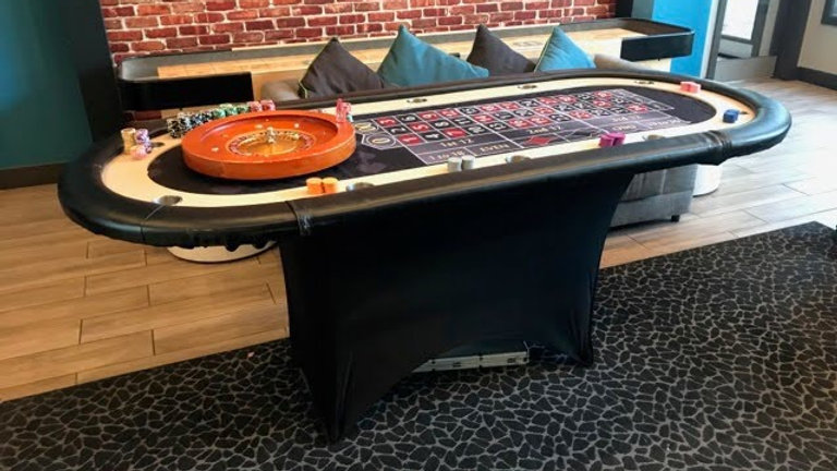 One Roulette Table Rental      Deposit