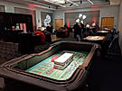 Casino night party rentals with craps