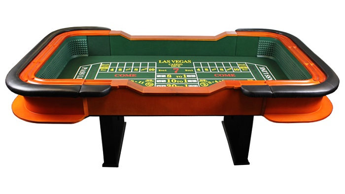 Three Card Tables, One Craps & Four Dealers