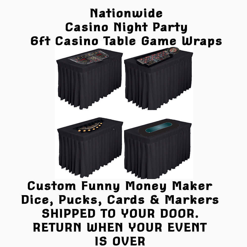 Casino night Party in a box