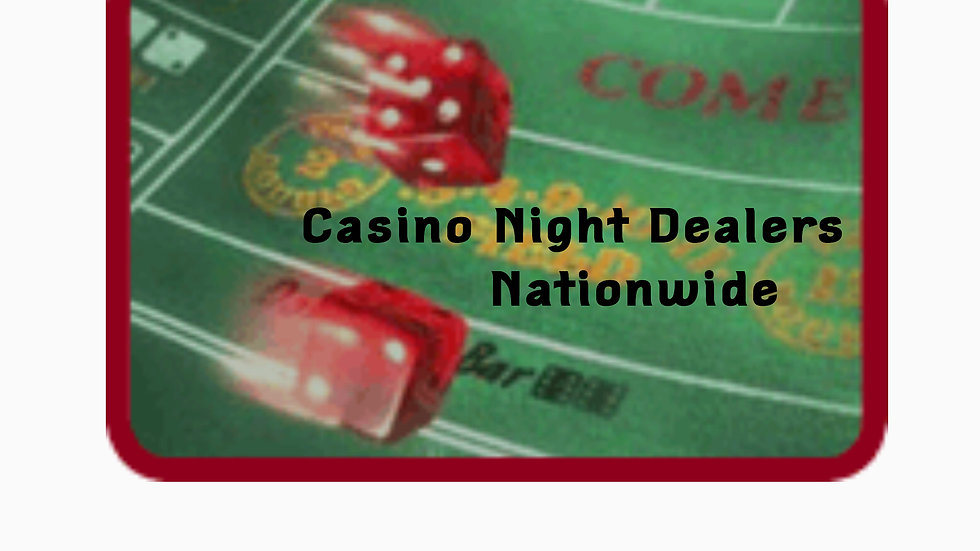 Casino Dealers for 4 hours