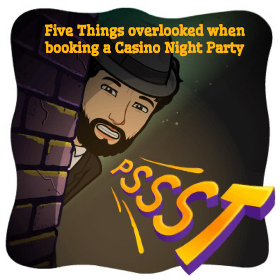 Five things overlooked when booking a Casino Party Rental