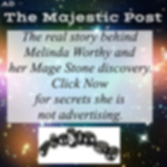 The Majestic Post Ad from Mage Ston, Secrects