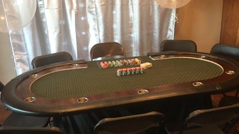 Casino Card table & Dealer   Deposit