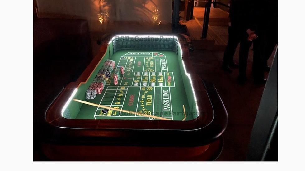 Nine Card Tables & Dealers