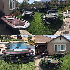 Casino Party rentals and poker events