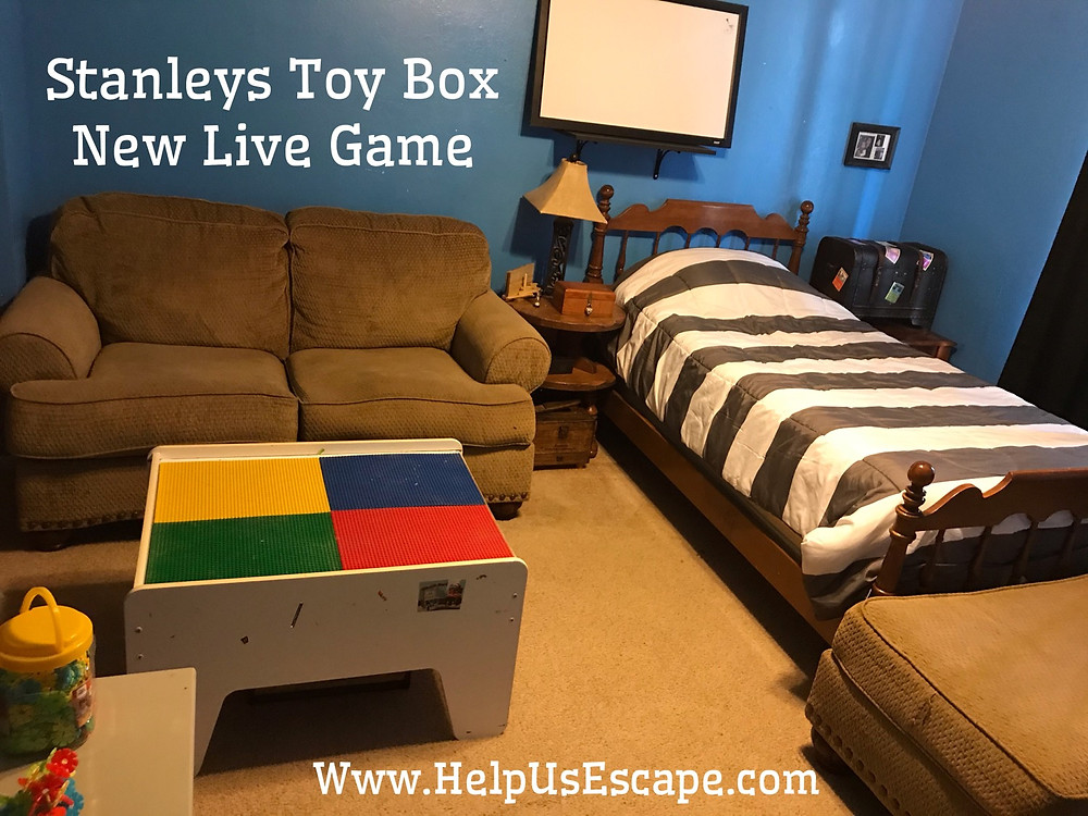 Stanley Toy Box Live escape Room Game
