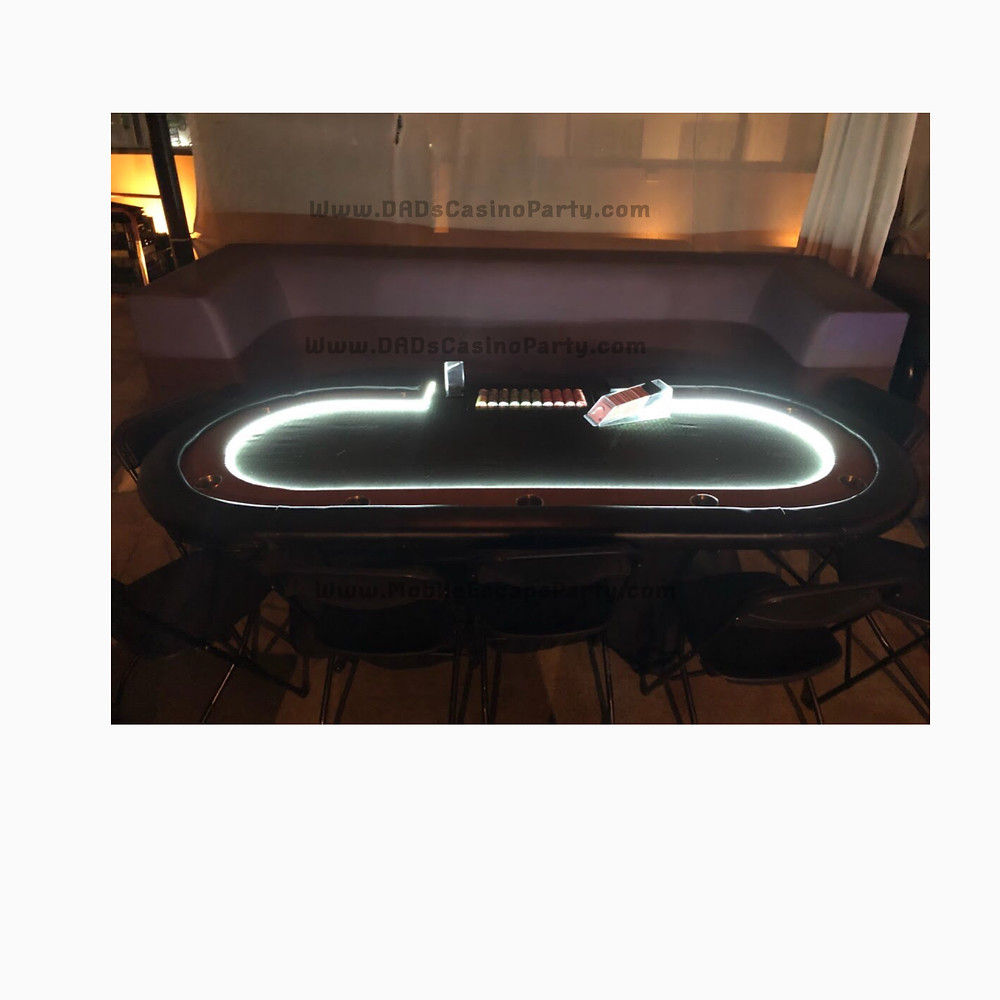 LED light up casino night games in 2019 for your next casino event