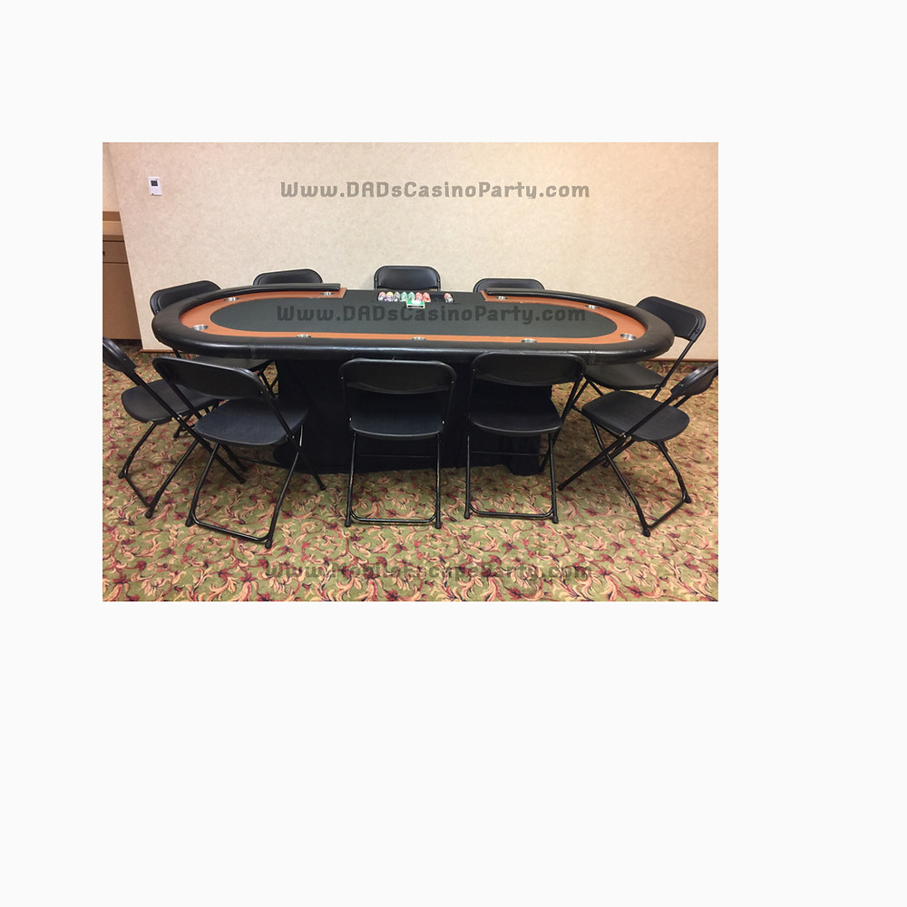 Casino night gaming table for casino nights in 2019