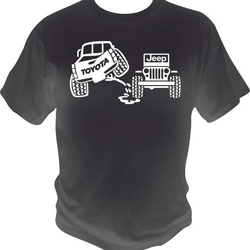 Toyota Piss on Jeep Shirt