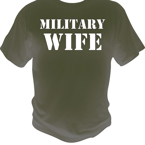 Military Wife Shirt