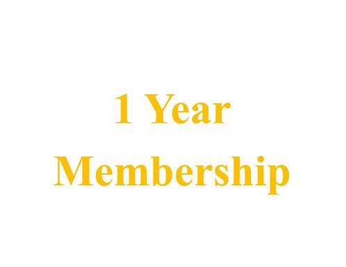 1 Year Membership ED