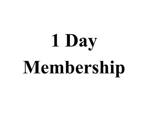 1 Day Membership ED