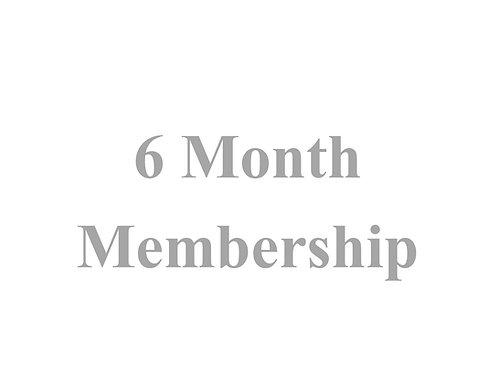 6 Month Membership ED