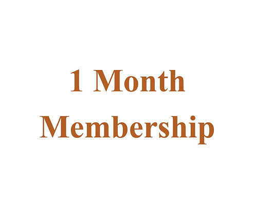 1 Month Membership ED