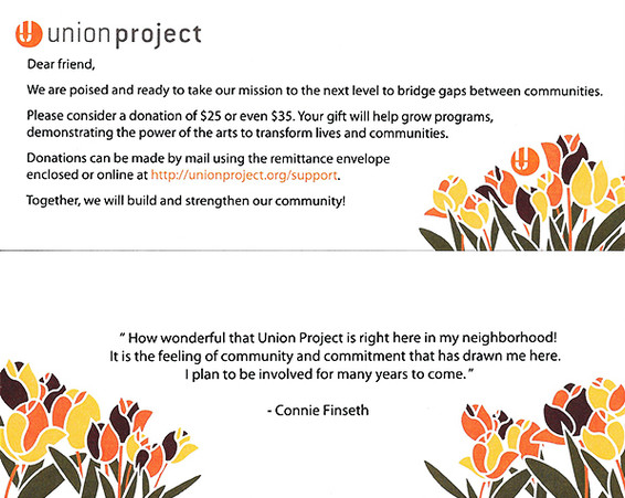 Union Project Strategic Plan Insert