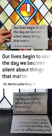 Union Project MLK Day Postcard