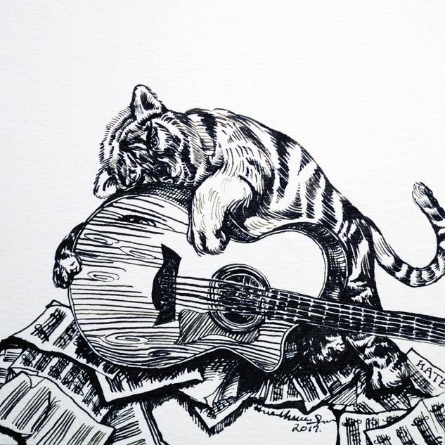 Us (set of 3 drawings)