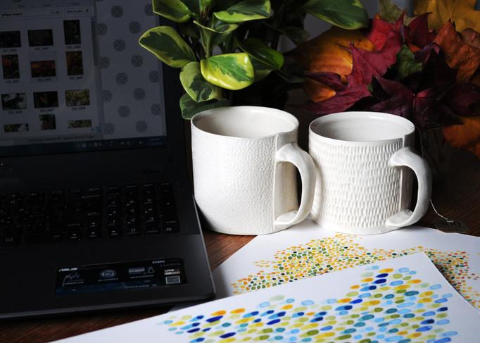Photography of Carina Kooiman's Mugs