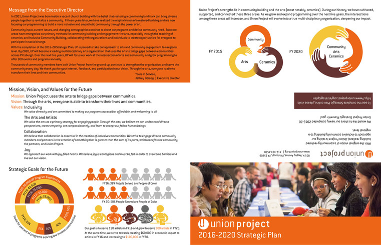 Union Project Strategic Plan Trifold