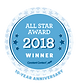 Constant Contact All Star Award 2018 Winner