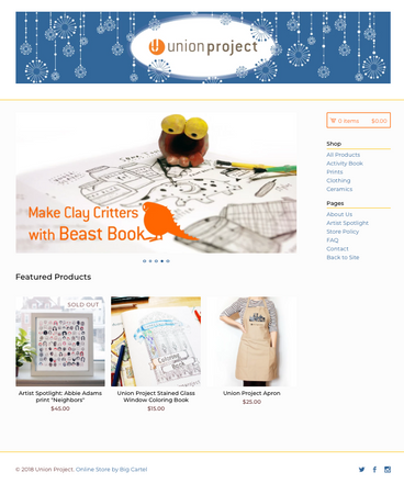 Union Project Online Store