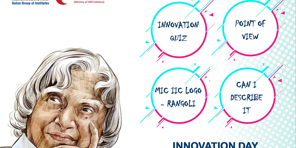 Celebrating 15th October as Innovation Day