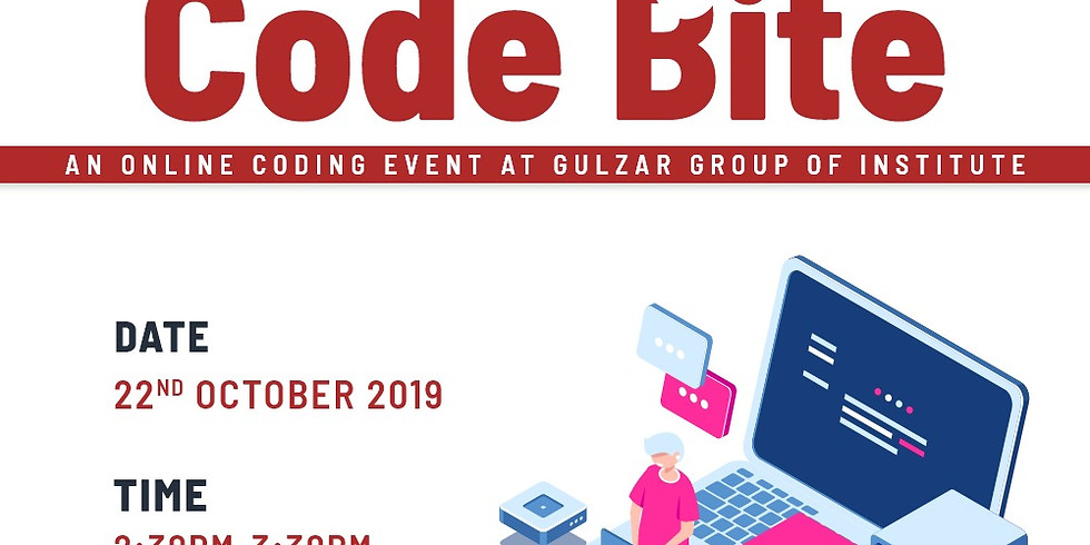 Gulzar Group of Institute Coding Challenge - Code Bite