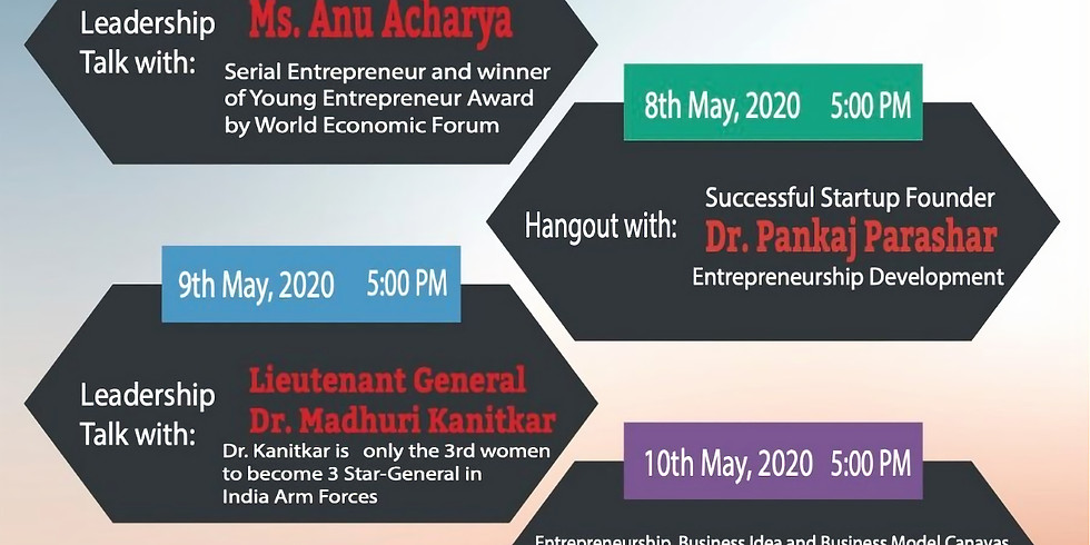 Learn from Leaders on 6th/May 2020 to 13th/May/2020