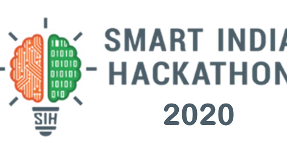 Smart India Hackathon 2020 (SIH 2020)