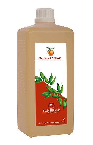 Masážny olej -Pomaranč