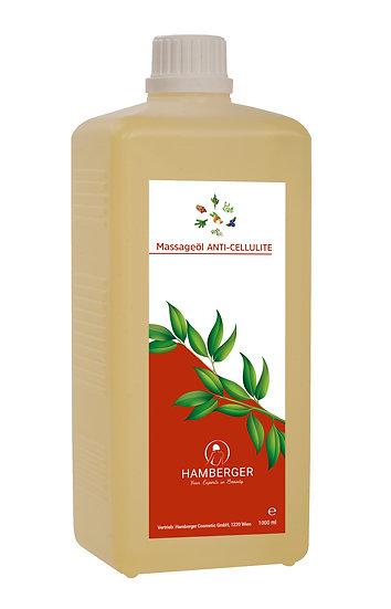 Masážny olej - Anticelulitídny