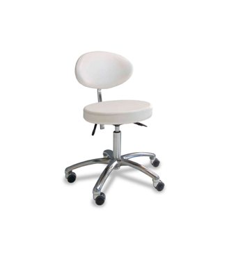 Gharieni stolička s oválnym sedadlom