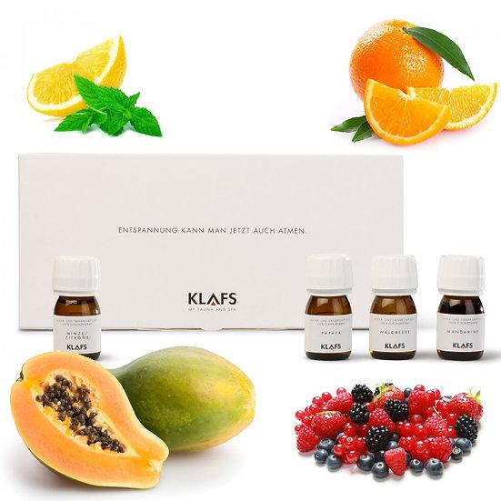 Sada ovocných saunových vôní - koncentrátov 4x30ml