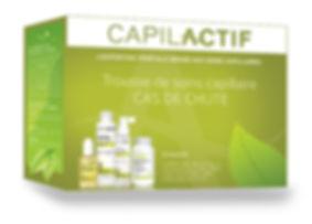Trousse capilactif pou la chute et la perte de cheveux