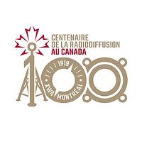 Logo du Centenaire de la radiodiffusion au Canada