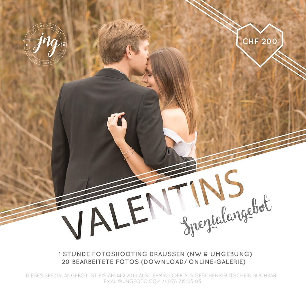 Valentins Spezialangebot (Flyer)