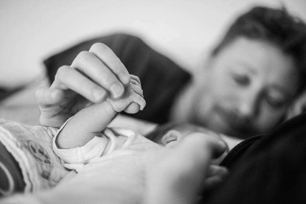 Vivien Newborn Lifestyle Fotoshooting 19