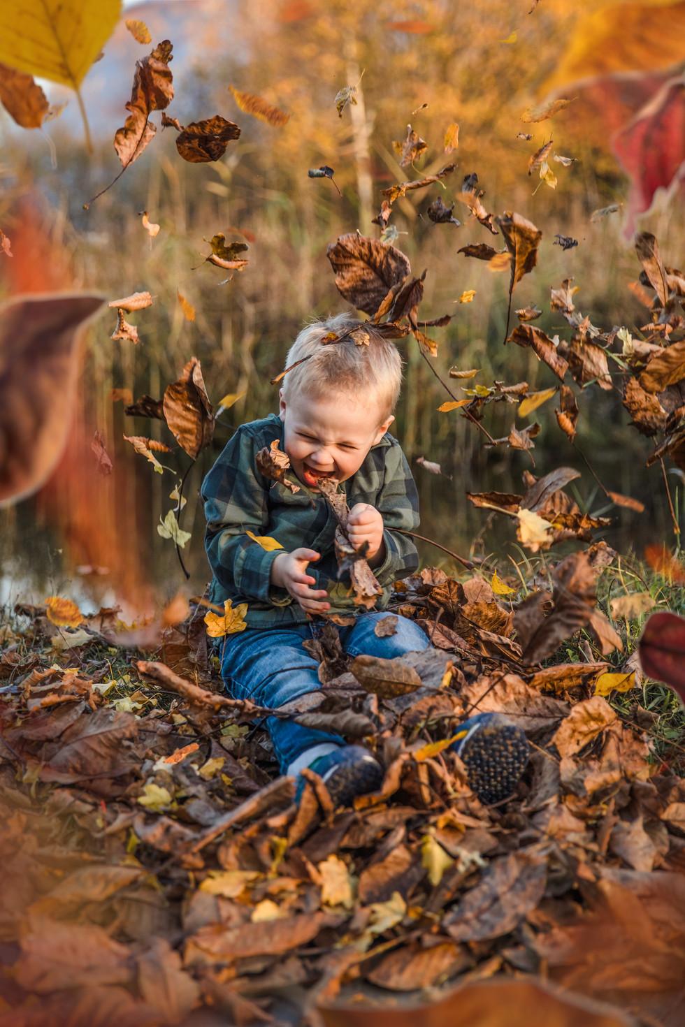 Mami & Sohn Outdoor Familien Minishootin