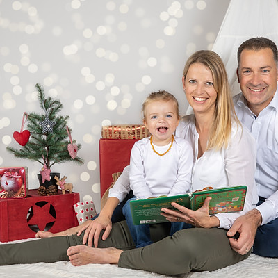 Weihnachts-Fotoshooting
