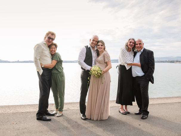 Zivile Hochzeit mit Babybauch in Zug 240
