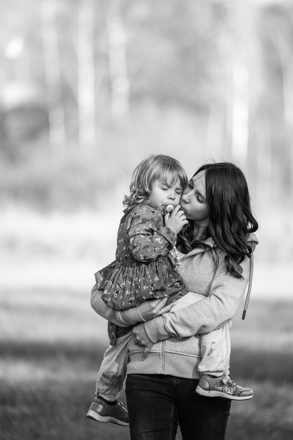 Mami & Tochter Familienshooting Herbst 0