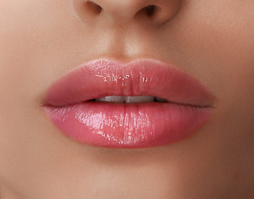 Permanent Make-up on her Lips..jpg