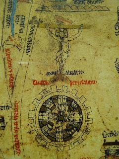 Mappa mundi Jerusalem crucifixion