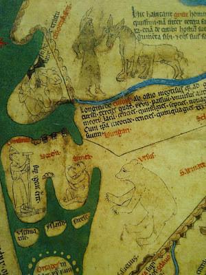 mappa mundi bear ursus norway griste