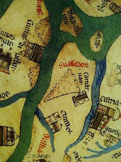Mappa mundi Snowdon Wales