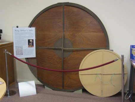 King Arthur's Table goes on display