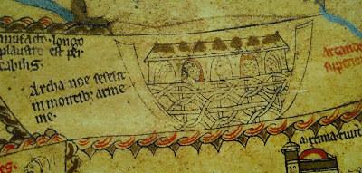 Mappa mundi Noah's ark