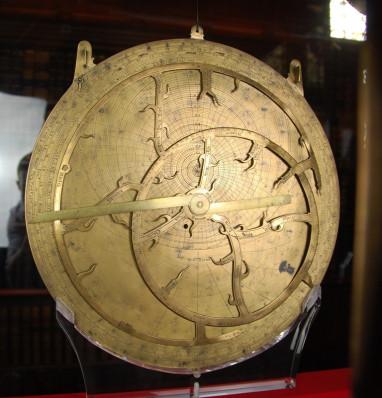 Astrolabe-equatorium at Merton College, Oxford
