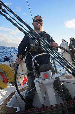 Seb Falk historian sailing yacht